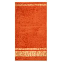Prosop Bamboo Gold cărămiziu, 50 x 90 cm