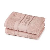 4Home Bamboo Premium ręczniki różowy, 50 x 100 cm, 2 szt.