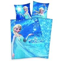 Dětské bavlněné povlečení Ledové království Frozen Kouzlo vločky, 140 x 200 cm, 70 x 90 cm