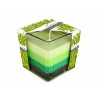 Świeczka w szkle Tęcza Zielona herbata, 170 g