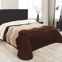 Cuvertură de pat Celiné maro