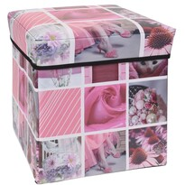 Úložný box Siena ružová, 30 x 30 x 30 cm