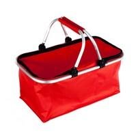 Koszyk na zakupy Kemping czerwony