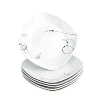 Domestic Chanson 6 részes desszert tányér készlet, 19 cm