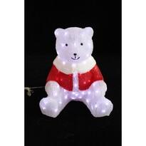 Vánoční svítící dekorace Medvídek, 80 LED