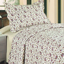 Narzuta na łóżko Flowers, 140 x 200 cm,