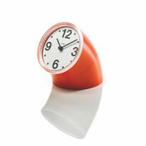 Stolní hodiny Cronotime 8,5 cm, oranžové
