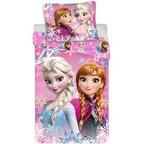 Detské bavlnené obliečky Ľadové kráľovstvo Frozen sisters 02, 140 x 200 cm, 70 x 90 cm