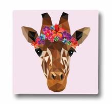 Butter Kings Beautiful Giraffe Kép vásznon