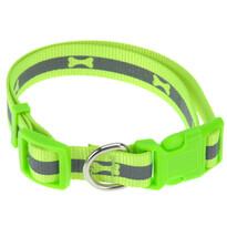 Obojek pro psa Neon zelená, vel. M
