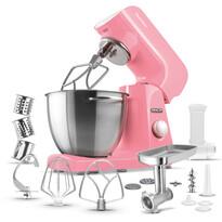 Robot de bucătărie Sencor STM 44RD, roşu-roz