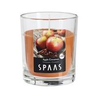 SPAAS Vonná svíčka ve skle Apple Cinnamon, 7 cm