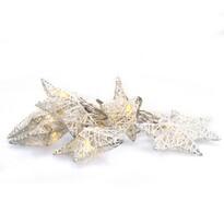 Solight 1V203 Světelný vánoční řetěz Vánoční Hvězdy teplá bílá, 10 LED