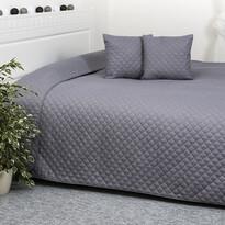 4Home přehoz na postel Orient šedá, 220 x 240 cm, 2x 40 x 40 cm