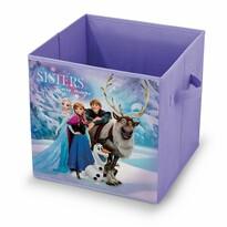 Domopak Living Úložný box s motívom Disney Frozen, 32 x 32 x 32 cm