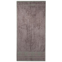 4Home Ręcznik Bamboo Premium szary, 50 x 100 cm