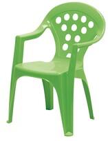 Detská stolička zelená
