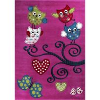 Detský koberec Kids 420 Lila, 80 x 150 cm