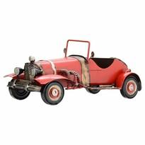 Dekorační model auta Cabrio, červená