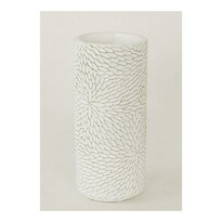 Betónová váza Flower biela, 20 cm