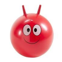 Skákací míč Smajlík červená, 45 cm