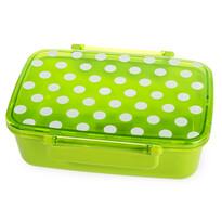 Desiatový box s vekom Dot, zelená