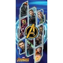 Ręcznik kąpielowy Avengers Infinity war, 70 x 140 cm