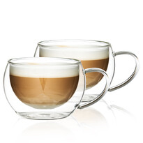 Pahare Termo cappuccino 4Home Hot&Cool 280 ml, 2 buc.