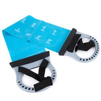 Latex expander fogantyúkkal, kék