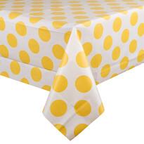 Obrus Koła żółty, 130 x 180 cm
