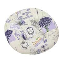 Siedzisko Gita pikowane okrągłe Provence, 40 cm