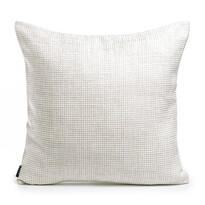 Poszewka na poduszkę-jasiek Newton kremowy, 50 x 50 cm