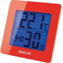 Termometru cu ceas Sencor SWS 1500 RD