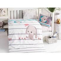 Detské bavlnené obliečky do postieľky Sweety, 100 x 135 cm, 40 x 60 cm