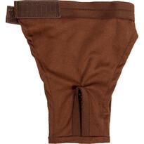 Hárací kalhotky Bina Ekonomy hnědá, 32 cm