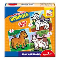 Bino První puzzle Zvířátka