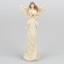Anioł z gołąbkiem, 19,5 cm