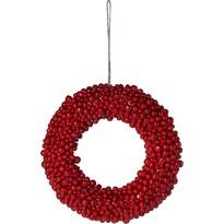 Jesenný veniec Red Berries červená, pr. 28 cm