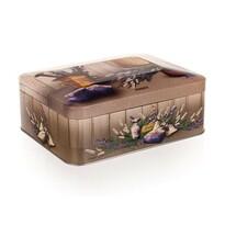 Cutie metalică cu capac ermetic Banquet Lavender