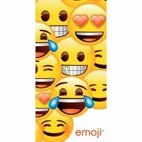 Ręcznik kąpielowy Emoji, 70 x 140 cm