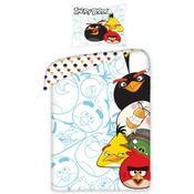 Detské bavlnené obliečky Angry Birds 5002, 140 x 200 cm, 70 x 80 cm