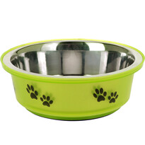 Miska pre psa zelená, 400 ml