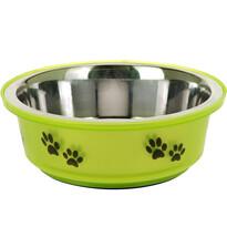 Miska pro psa zelená, 400 ml