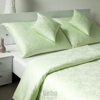 Bohema Szulák veba damaszt ágynemű zöld