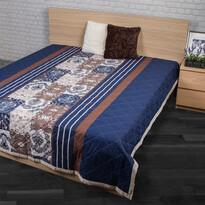 Cuvertură de pat Paolina albastră, 240 x 220 cm