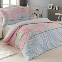 Bavlnené obliečky Elegante ružová, 220 x 200 cm, 2x 70 x 90 cm