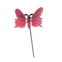 Dekorace motýlek, růžová