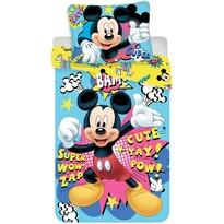 Lenjerie de pat pentru copii Mickey BAM! micro, 140 x 200 cm, 70 x 90 cm