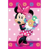 Dětská deka Minnie Flower, 100 x 150 cm