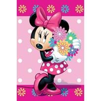 Koc dziecięcy Minnie Flower, 100 x 150 cm